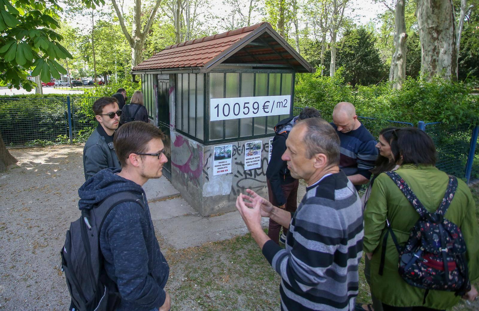 'Napisi oko preskupe obnove javnih WC-a nisu vjerodostojni'