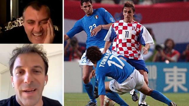 Del Piero & Vieri: Bokšić? Ma čudo od igrača, bijeli Ronaldo!