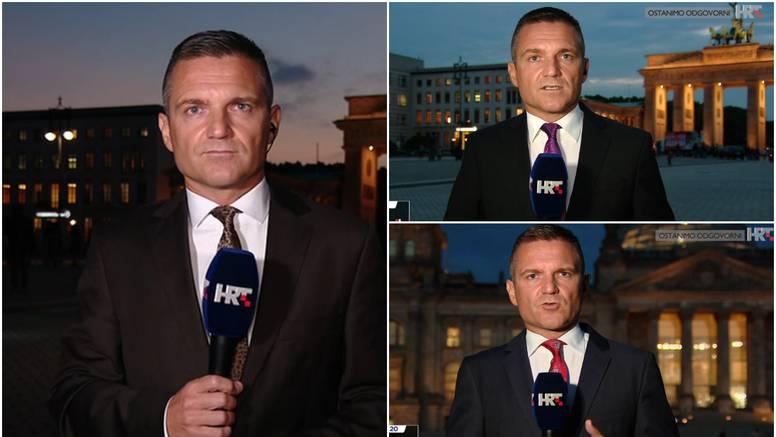 Novinar HRT-a ukrao svu pažnju otkačenim kravatama: 'Ova s leopard uzorkom je stvarno vrh'