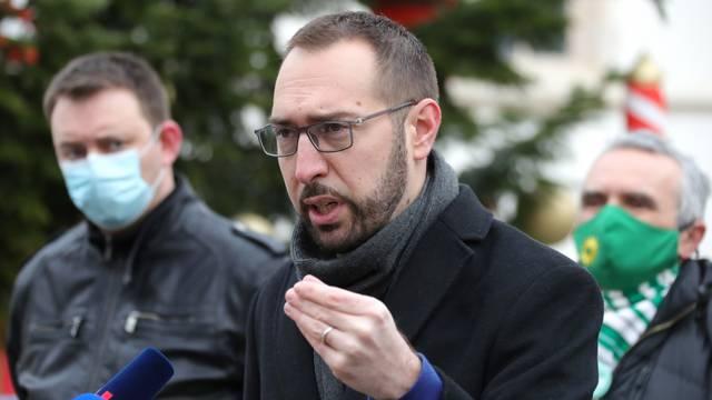 Zagreb: Održana konferencija za medije Kluba zastupnika zeleno-lijevog bloka