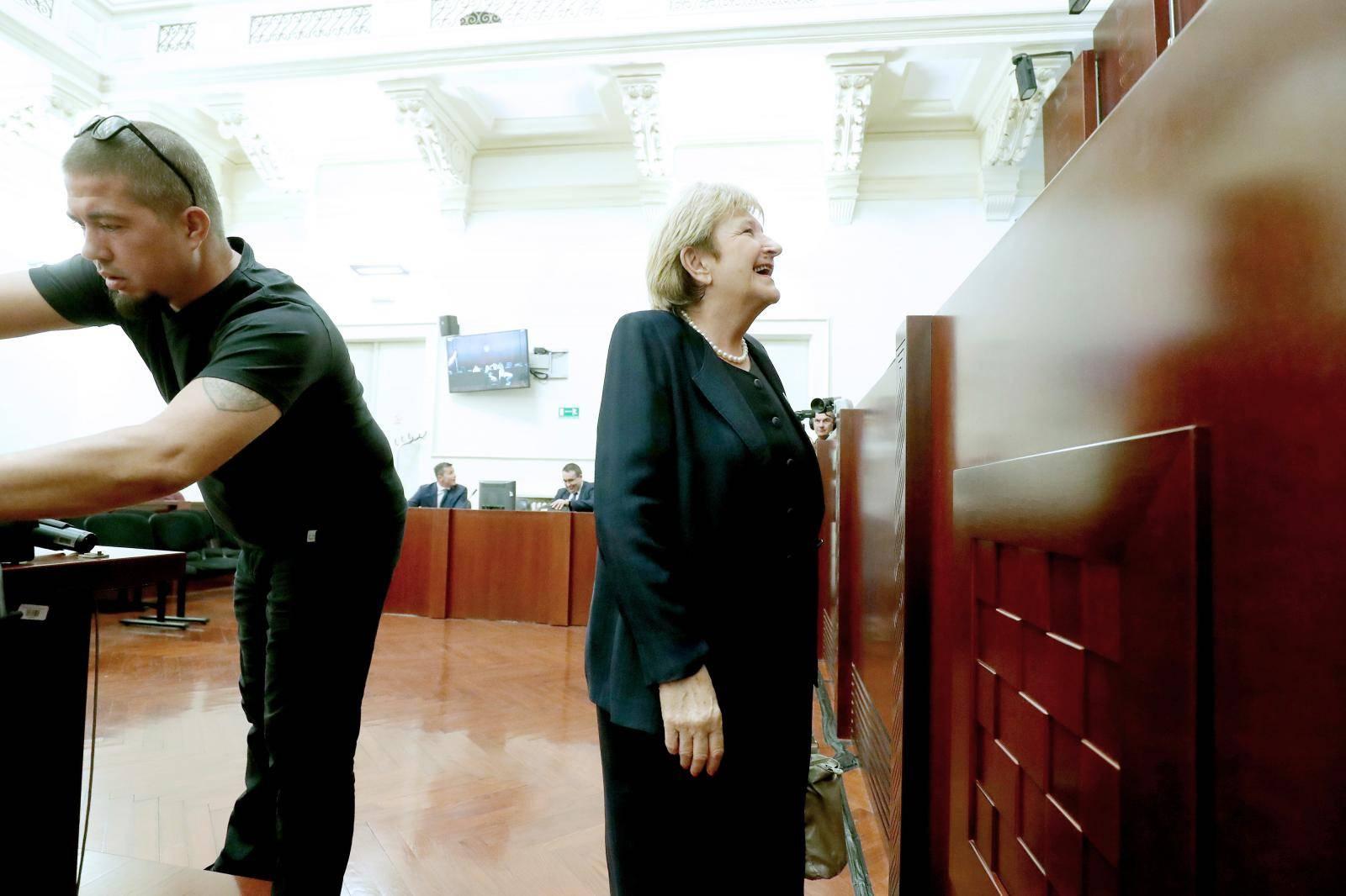 Zagreb: Vida Demarin svjedoči u nastavku suđenja za aferu Agram