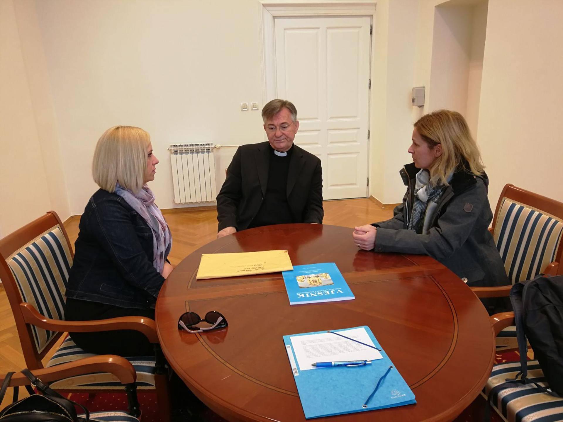 Nadbiskup primio Ninu Kuluz: 'Odluke suda legitimne, ali...'