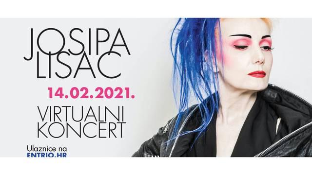 Josipa Lisac: virtualni koncert na Valentinovo 14.02.2021. u 20:00