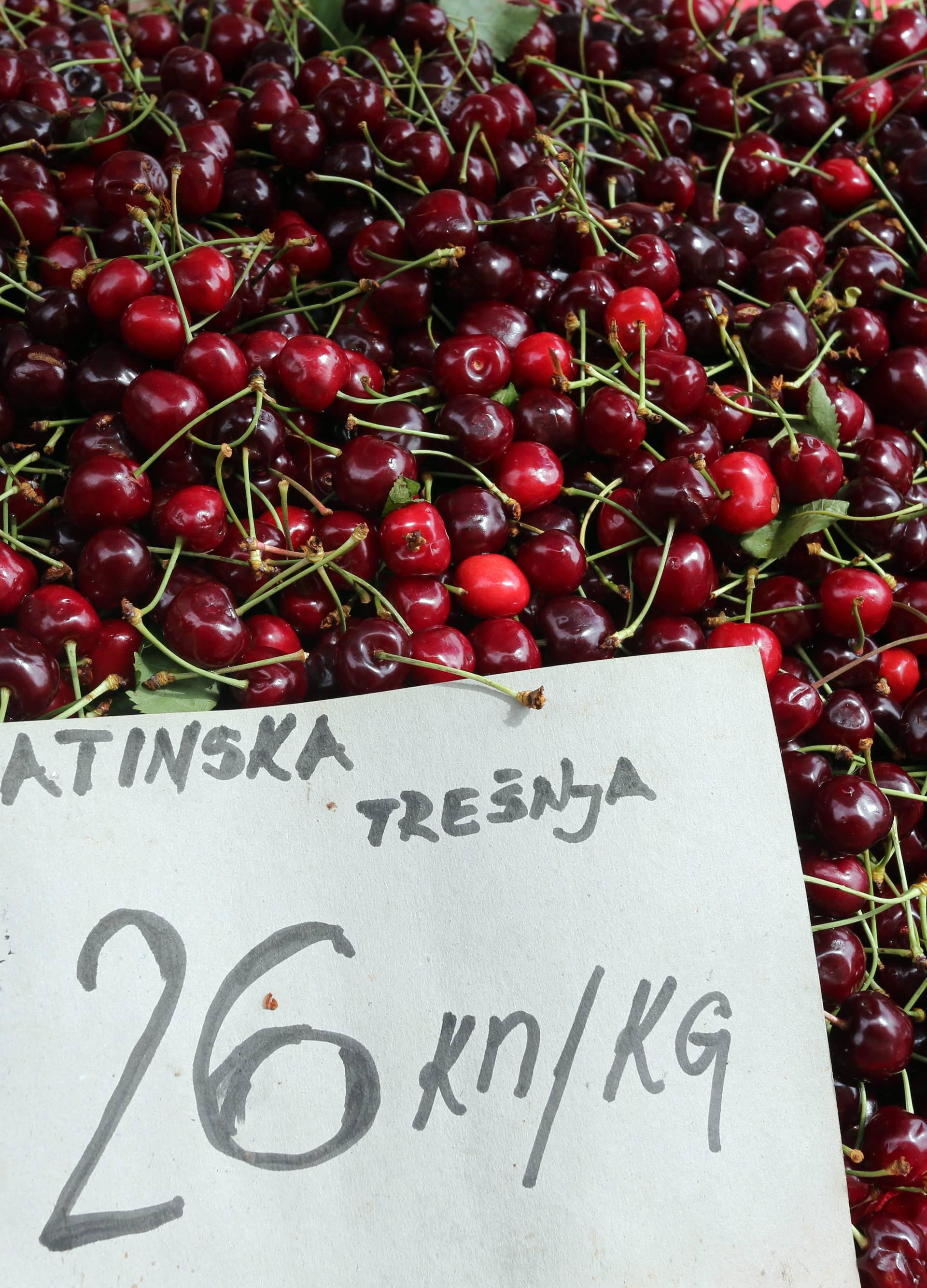 Kušajte ih prije kupnje: Uvozne trešnje  iste su boje kao domaće