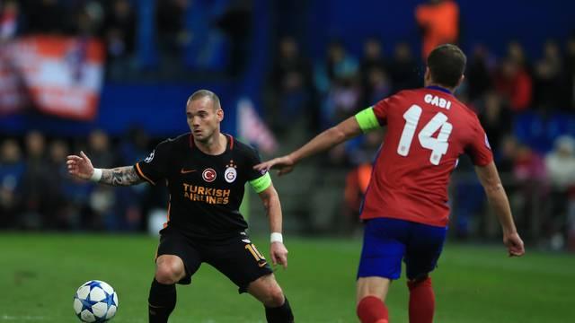 Atletico Madrid v Galatasaray - UEFA Champions League - Group C - Estadio Vicente Calderon