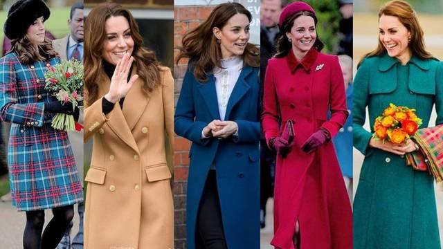 Klasične linije: Kate Middleton bira kapute snažnijih tonova