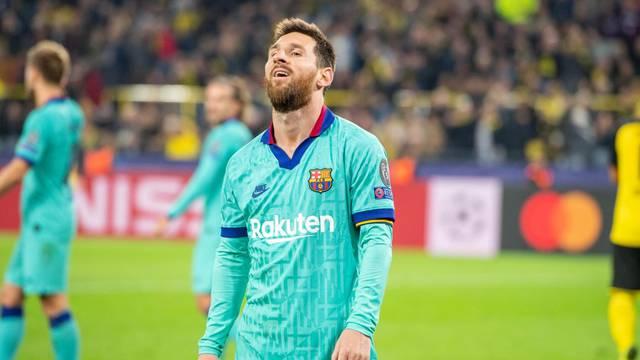 Soccer Champions League / Borussia Dortmund - FC Barcelona.