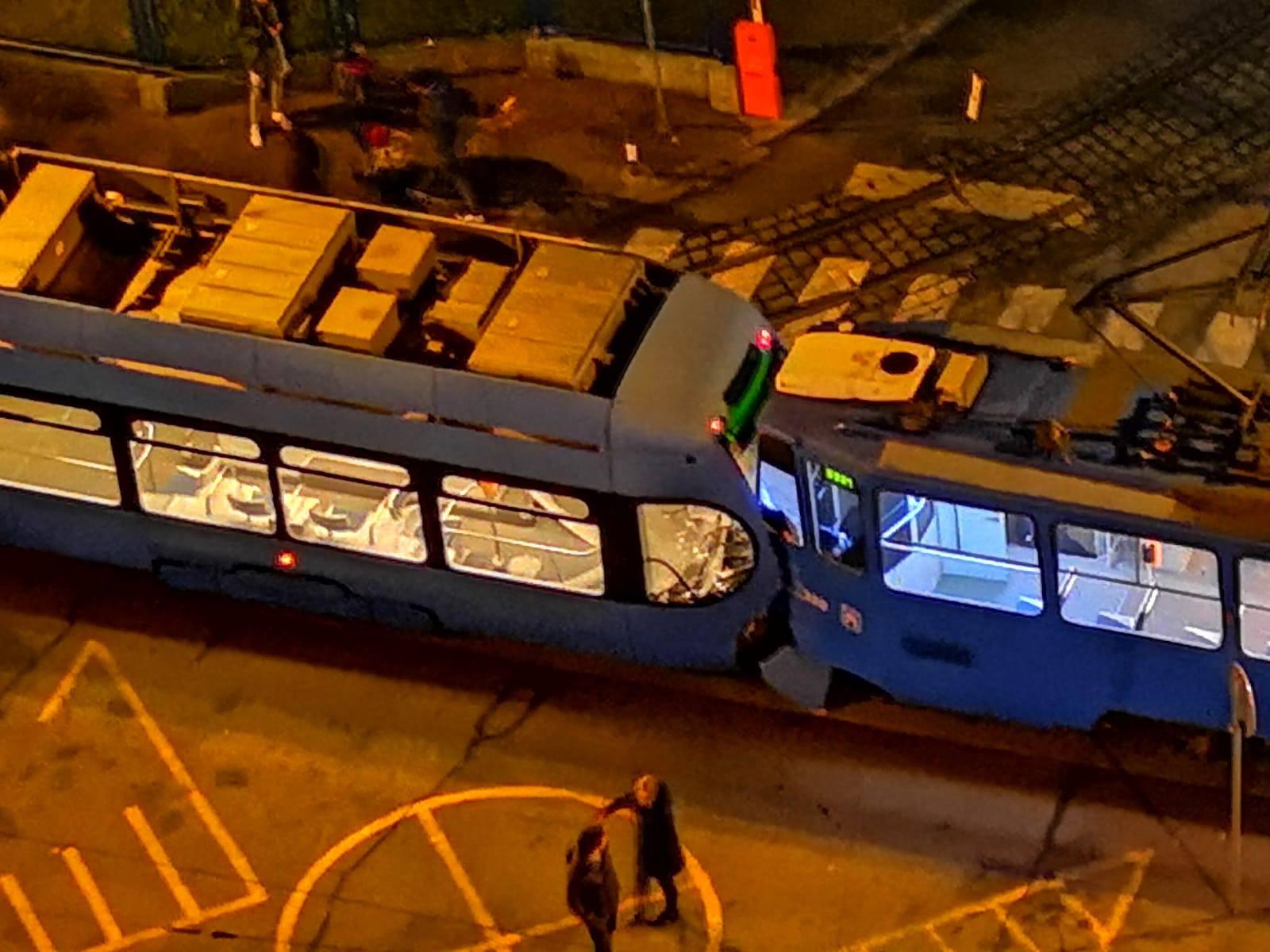 Sudar tramvaja na Ljubljanici: Nema ozlijeđenih, no ima štete
