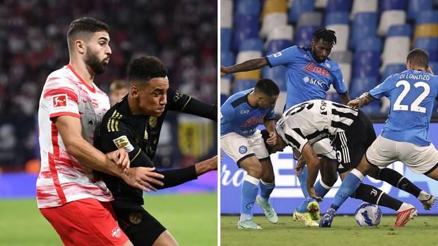 Napoli je gurnuo Juve u veliku krizu, Bayern razbio RB Leipzig