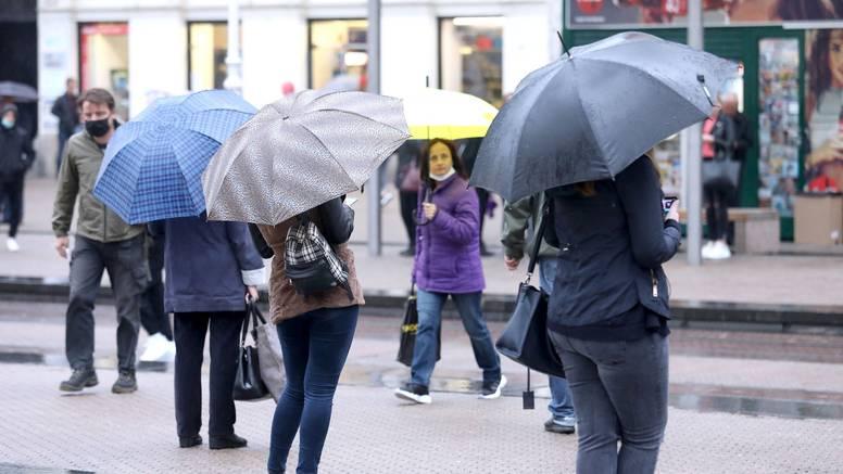 Ne spremajte jakne i kišobrane: Stiže hladna fronta, donosi kišu i grmljavinu, ponegdje i tuču
