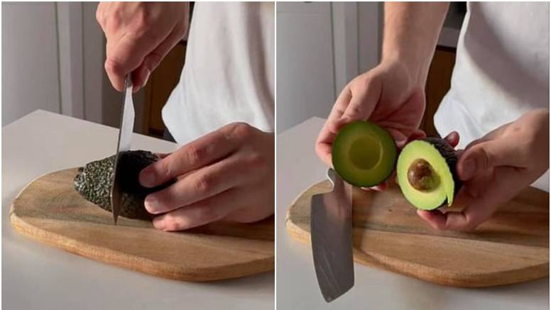 Kako režete avokado? Njegov način nagnao je na razmišljanje