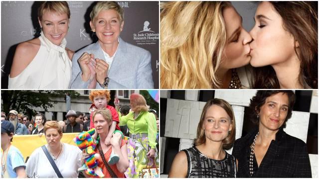 Žene koje vole žene: Ovo su najpoznatiji lezbijski parovi...