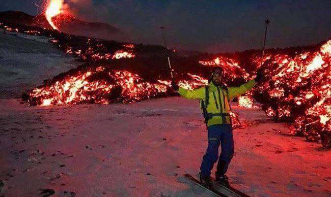 'Vidio sam brojne erupcije, ali baš nikad ovako spektakularnu'