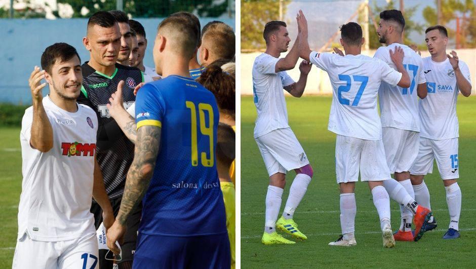 Hajduk počastio Solin za 100. godišnjicu, Čolak vodio Rijeku
