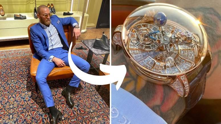 Conor otkrio satove koji vrijede milijune: Pritiskom na gumb se pokazuje - eksplicitna scena...