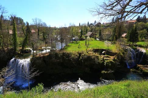 Proljeće u Rastokama bez turista