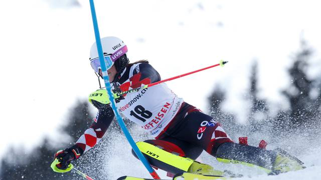 Skiing - Ladies' Alpine Combined