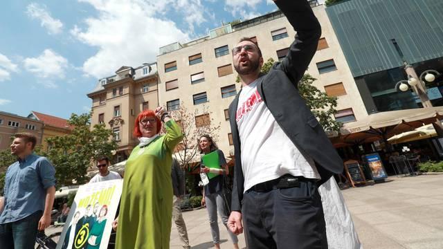 Zagreb: Europska zelena stranka dala podršku platformi Možemo!