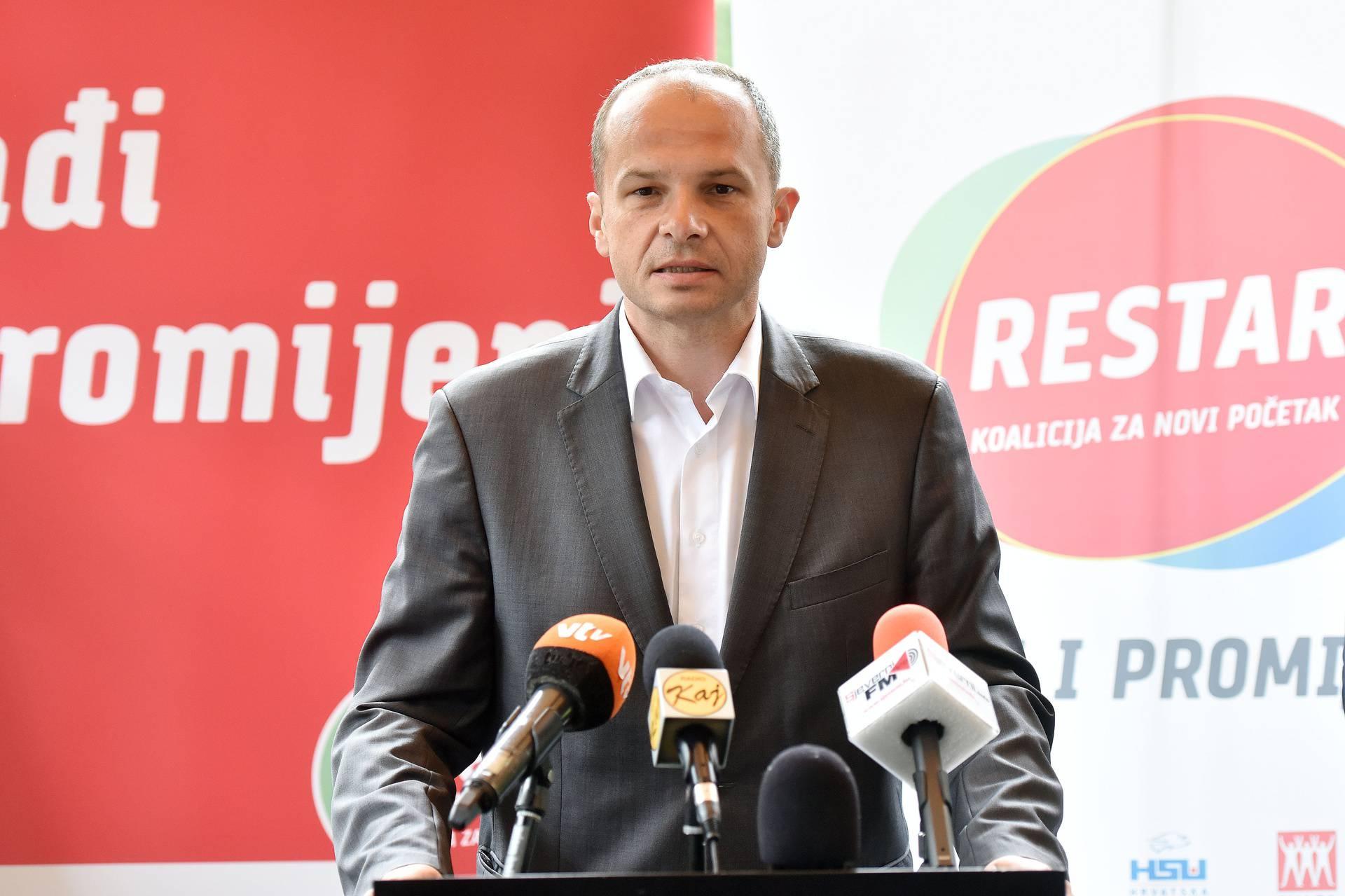 Varaždin: Predstavljanje kandidata Restart koalicije za III. izbornu jedinicu