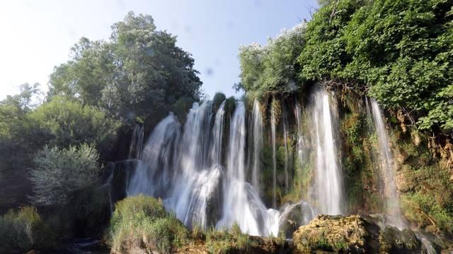 Na Roškom slapu 'Dijatomeje rijeke Krke – od izvora do ušća'