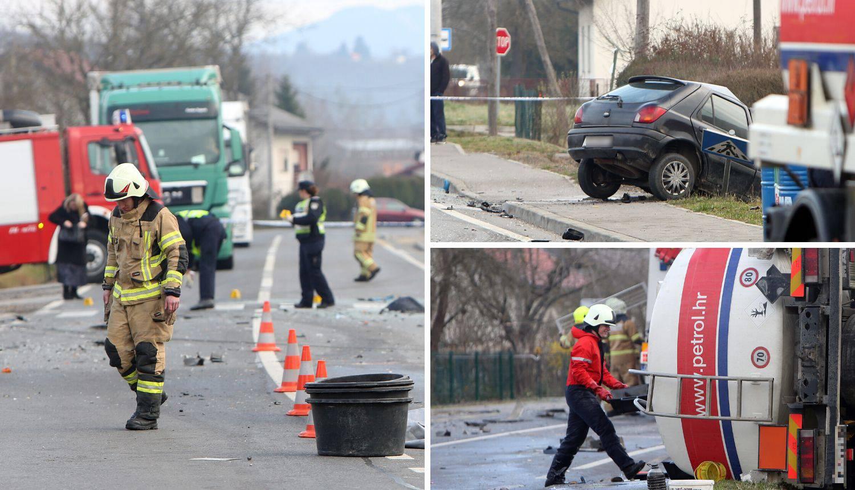 Detalji nesreće kod Karlovca: Skrenuo je, a vozač je poginuo