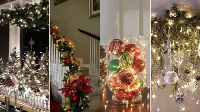 Božićne lampice na 12 načina: Evo kako možete urediti dom