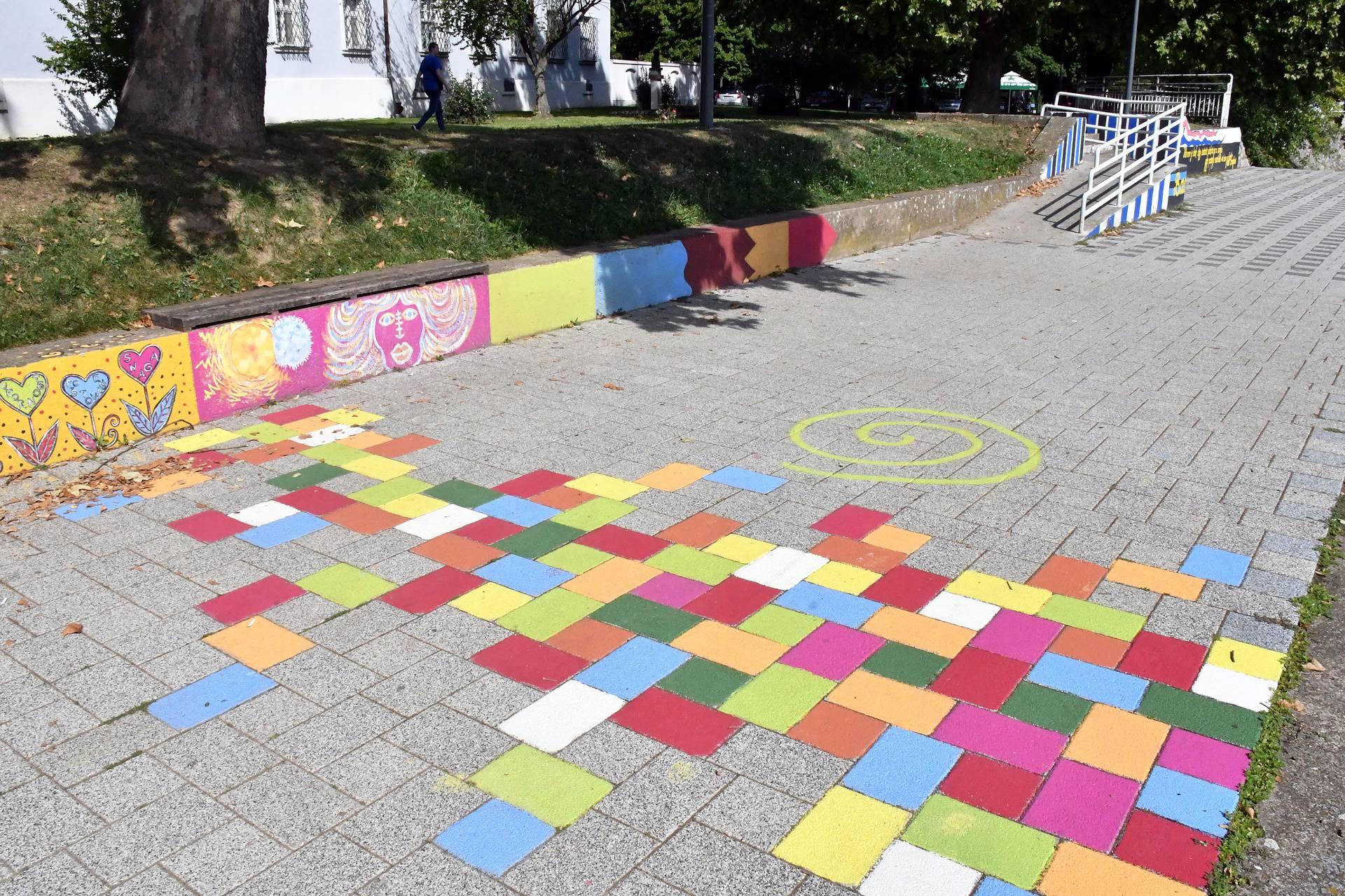 Šetnica uz kupalište u Brodu živnula uz super murale i grafite
