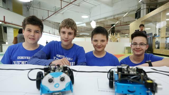 Naši osnovnoškolci rasturaju robotiku i programiranje