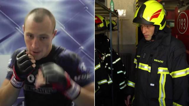 MMA borac Andi Vrtačić: 'Stipe Miočić je bolji u kavezu, ali ja sam bolji vatrogasac od njega'