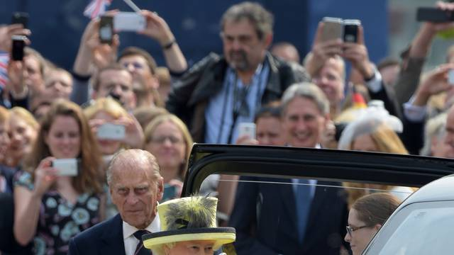 British Queen visits Germany