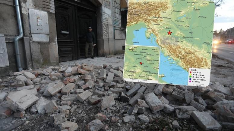 Novi jak potres od 3,6 Richtera uzdrmao  je sisačko područje