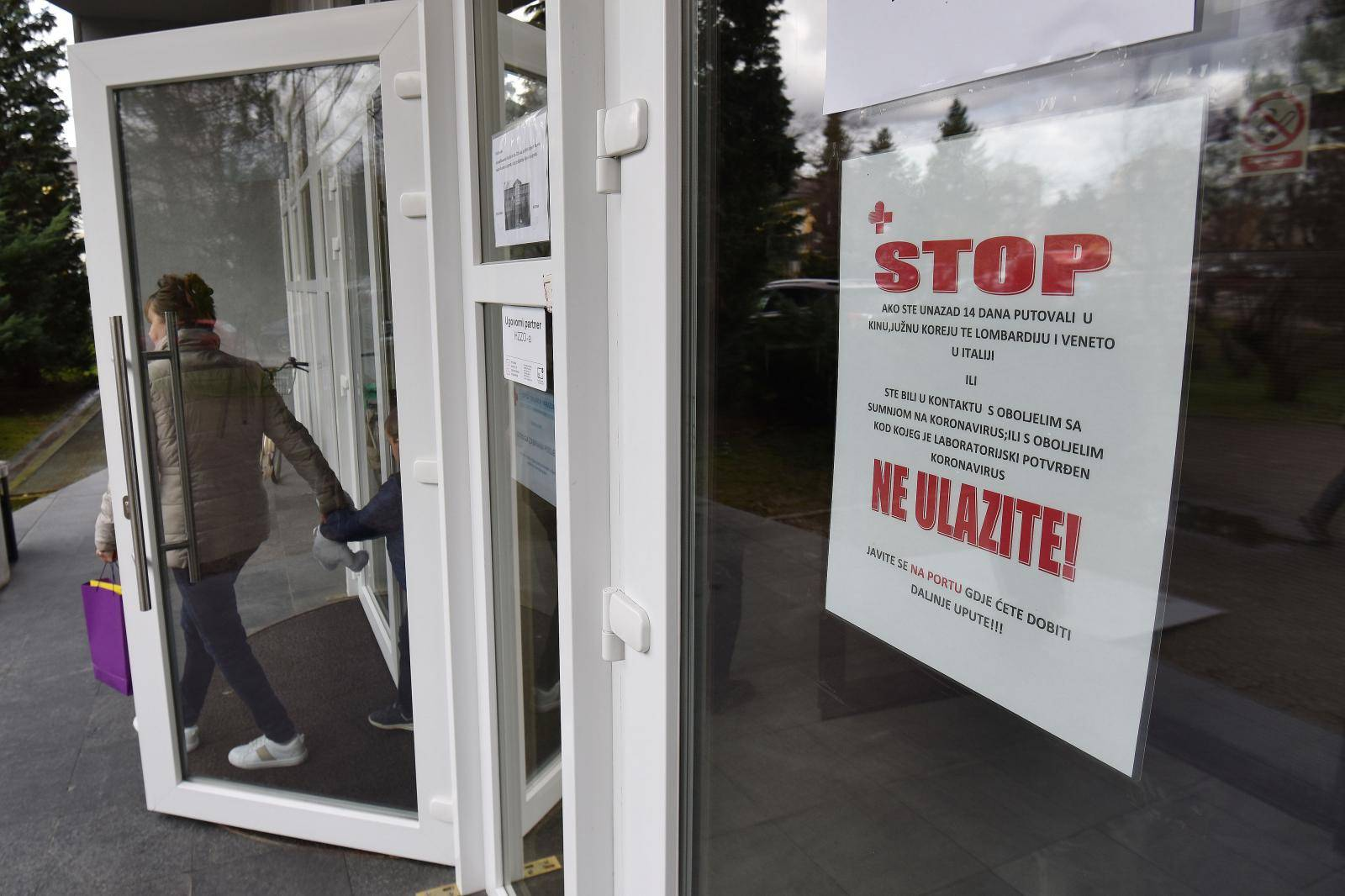 Jedna osoba pozitivna je na koronavirus u Varaždinu