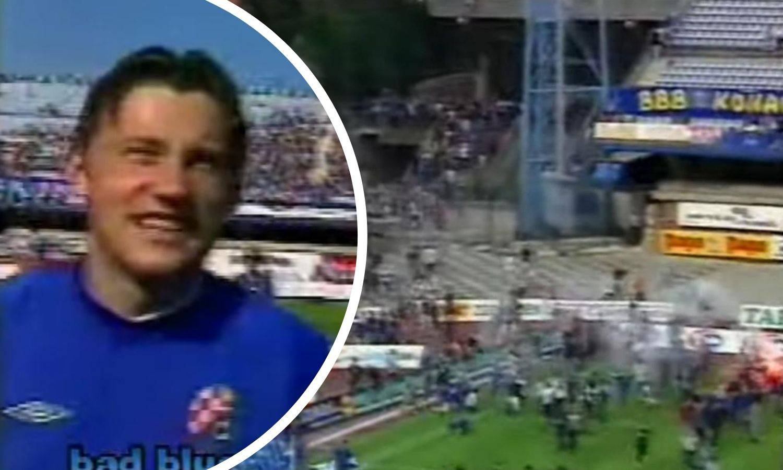 Prva HNL 02/03.: Olić prešao u Dinamo, tisuće navijača utrčalo na travnjak i slavilo s igračima