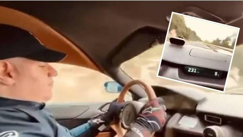 Opet vozi Rimčevu Neveru, a čeka ga optužni prijedlog jer je jurio 230 km/h kod Dubrovnika