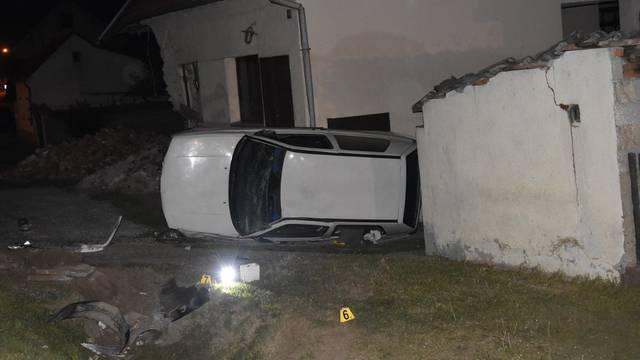 Golfom se zabio u kuću: Istu je prije 2 godine srušio kamion