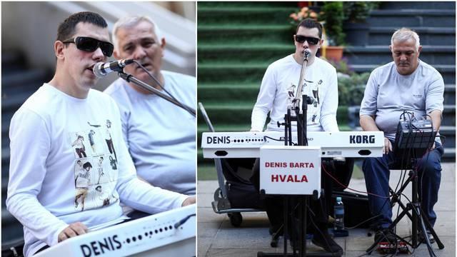 Pobjednik 'Supertalenta' Denis Barta svira na ulicama Sarajeva