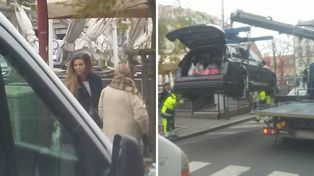 Nikolina Ristović terencem je blokirala promet: 'Nisam kriva'