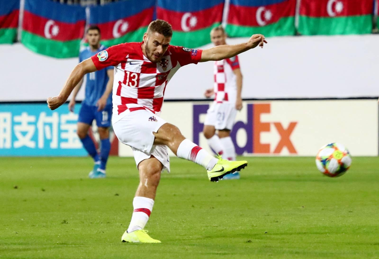 Euro 2020 Qualifier - Group E - Azerbaijan v Croatia