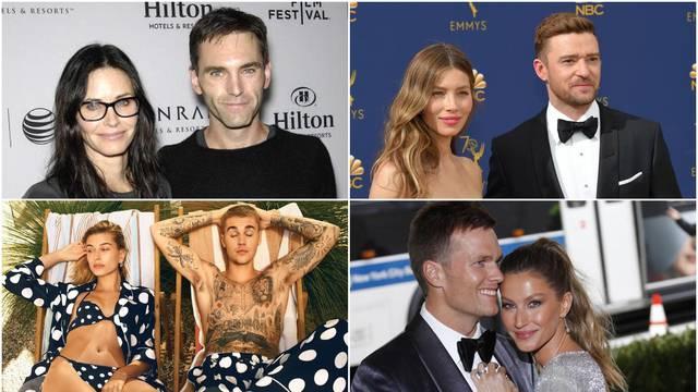 Jezivo: Ovi slavni parovi kao da su rođaci u trećem koljenu