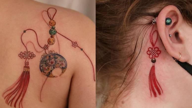 Južnokorejska umjetnica radi tetovaže inspirirane njihovim tradicionalnim ukrasima u boji