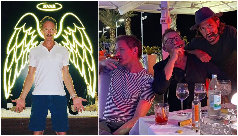 Barney se vratio na Hvar: Častio se u restoranu s prijateljima...