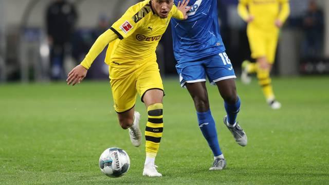 firo: 20.12.2019, football, 1.Bundesliga, season 2019/2020, TSG Hoffenheim - BVB, Borussia Dortmund