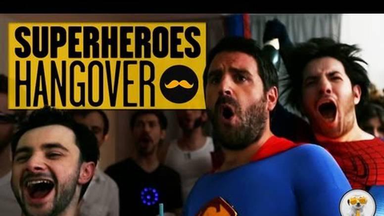 Svi oduzeti od cuge i pljuge: Superheroji u filmu Mamurluk