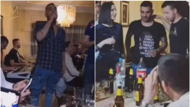 'Procurile' fotografije: Darko Lazić pjevao na korona partyju