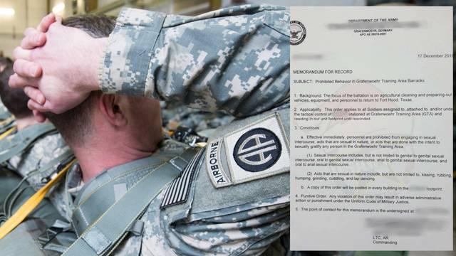 Vojnici se mogu - seksati! Nisu se smjeli čak ni drpati ni trljati