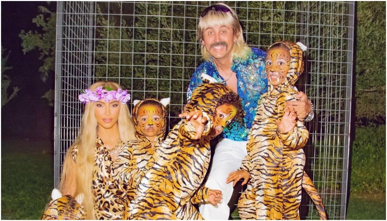 Kim Kardashian za Noć vještica postala je zvijezda 'Tiger Kinga'