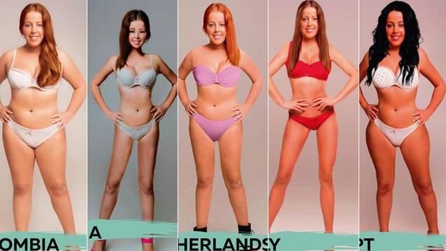 Kako izgleda 'savršeno tijelo' u 18 različitih zemalja u svijetu