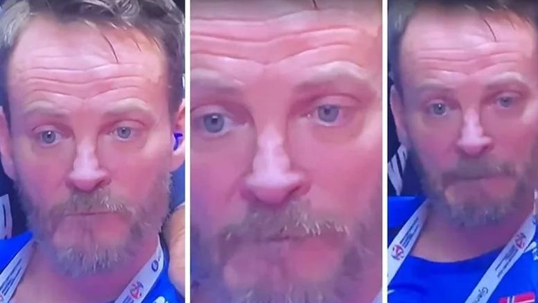 Potonule mu sve lađe: Čudesan izraz lica norveškog izbornika