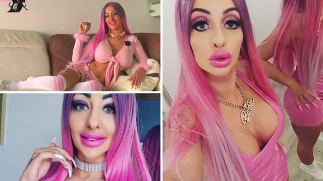 Htjela je izgledati kao Barbie, ali danas je jako daleko od toga