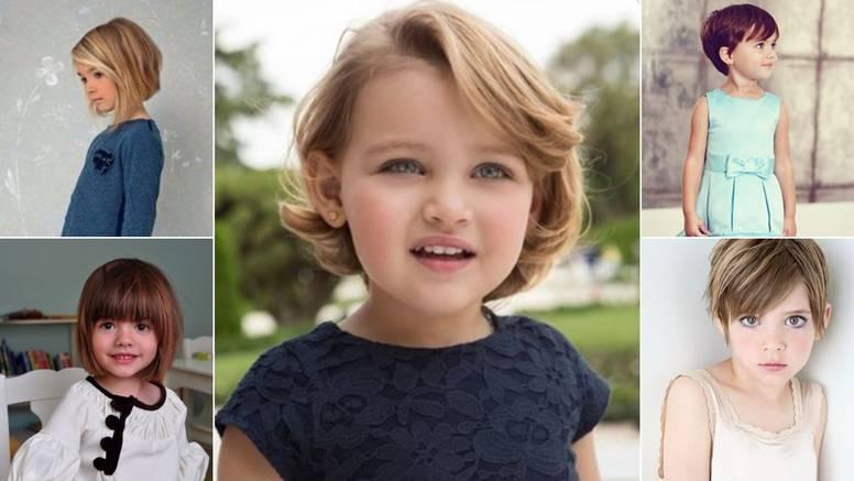 13 neodoljivih kraćih frizura za male djevojčice - kratko i slatko